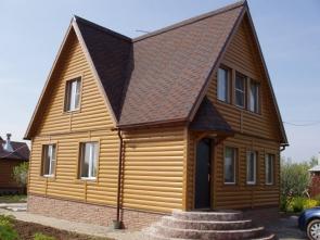 Один из вариантов крыши