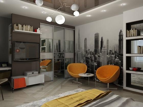 комната - дизайн студия  Берлога Пенза