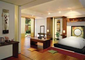 спальня на японский манер