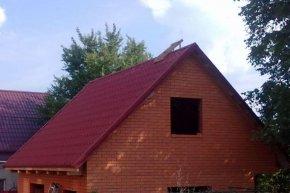 прямая крыша