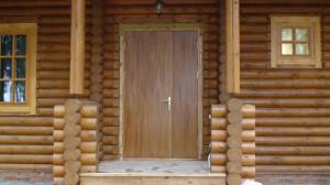 Утепление входной деревянной двери