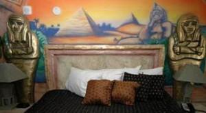 Египетский стиль интерьера: мебель и декор