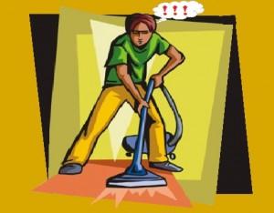 Средства для чистки ковролина: промышленные и народные