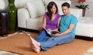 Тёплый пол под ковролин рулонного типа — инфракрасная термоплёнка